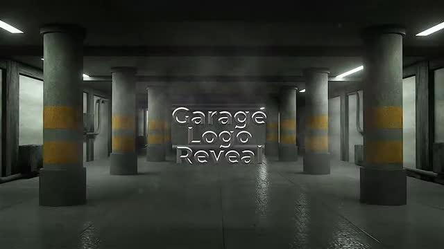 Garage Logo Reveal: Final Cut Pro Templates