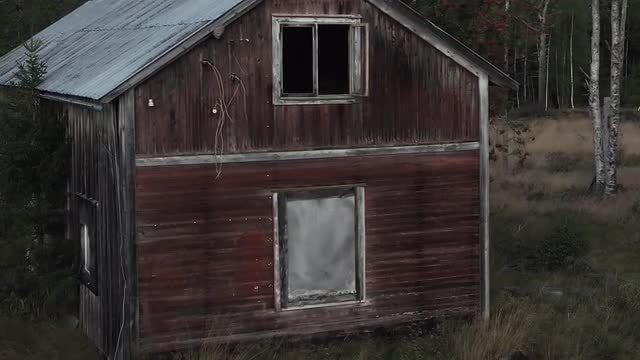 Abandoned House: Stock Video