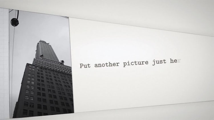 Typewriter On Paper: After Effects Templates