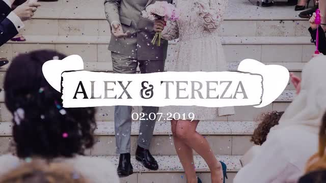 Brush Drawn Wedding Titles 4K: Motion Graphics Templates