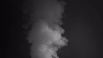 White Smoke Rising: Stock Video