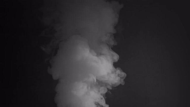 White Smoke Rising: Stock Video