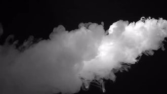 White fume after explosion: Stock Video