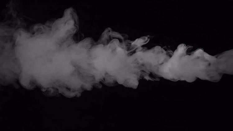 White Smoke Fume: Stock Video