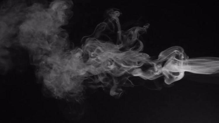 White Fume: Stock Video