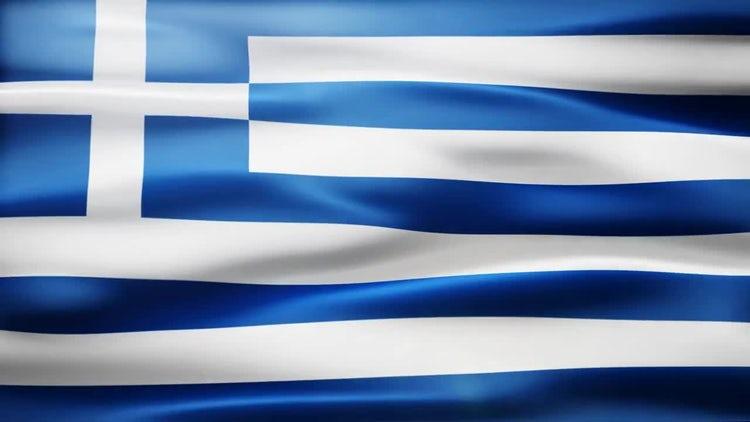 Greece Flag: Stock Motion Graphics