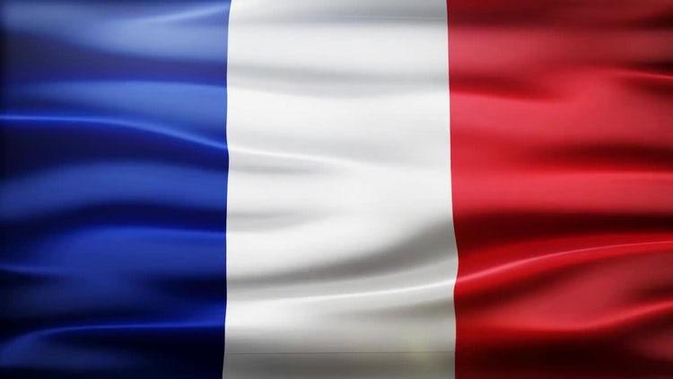 France Flag: Stock Motion Graphics