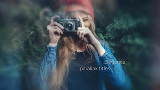 Cinematic Parallax Titles: After Effects Templates