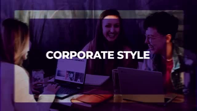 Corporate Style Short Intro: After Effects Templates