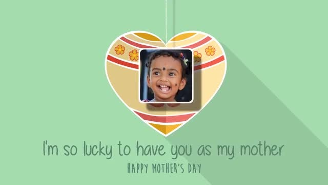 Mother's Day Minimal: After Effects Templates