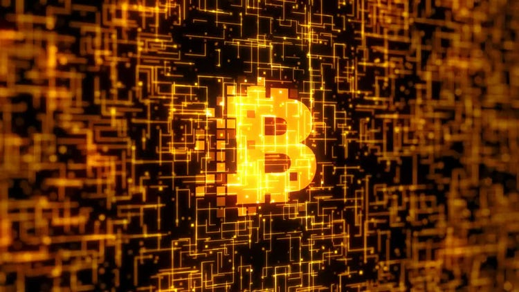 Bitcoin Logo: Stock Motion Graphics