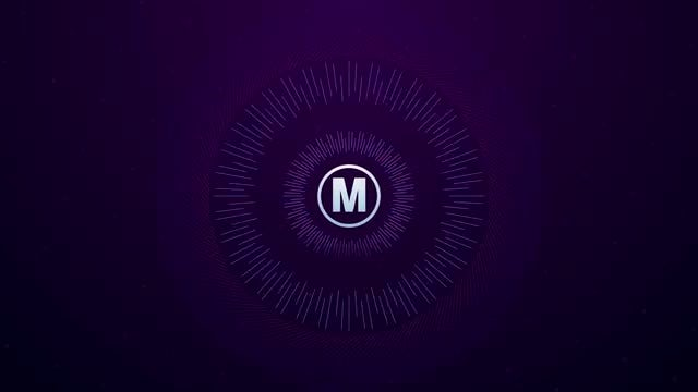 Logo geometry lines: After Effects Templates