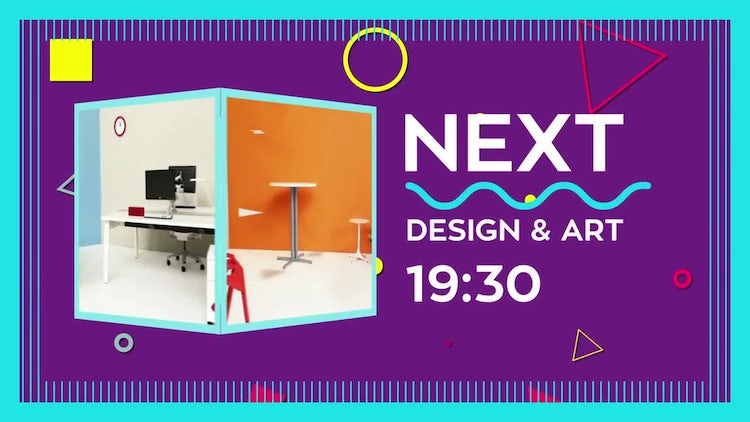 Coming Up Next Graphic: After Effects Templates
