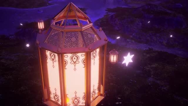 Ramadan Lantern: Stock Motion Graphics