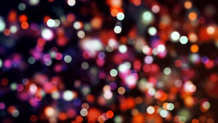 Multicolor Bokeh: Stock Motion Graphics