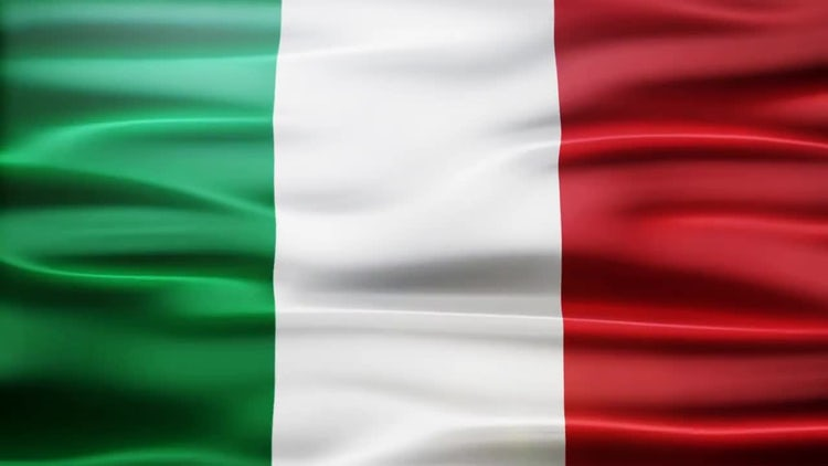Italy Flag: Stock Motion Graphics