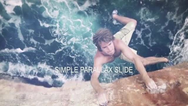 Simple Parallax Slide: After Effects Templates