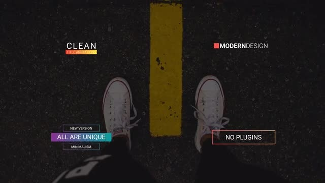 23 Modern Titles: After Effects Templates