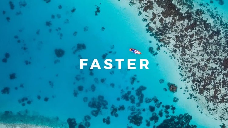 Stomp Typographic Intro: After Effects Templates
