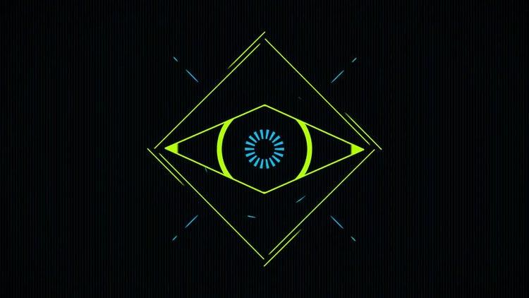 Minimal Eye Logo: Premiere Pro Templates