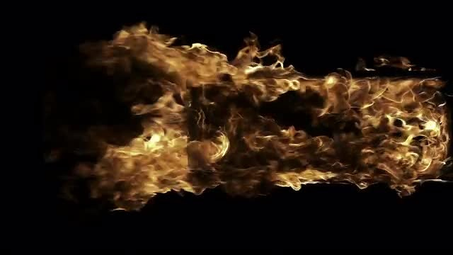 Doorway in the fire: Stock Video