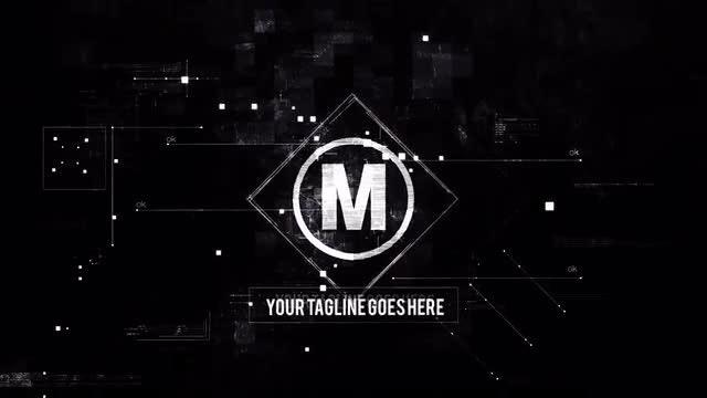 Dark Data Logo: After Effects Templates