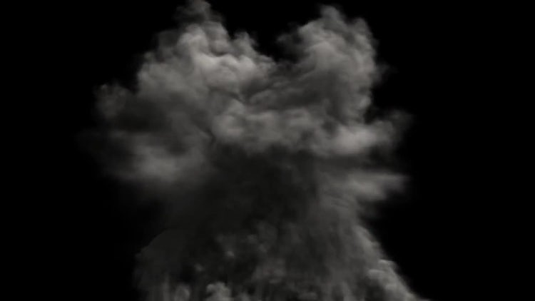 Upward Smoke: Stock Motion Graphics