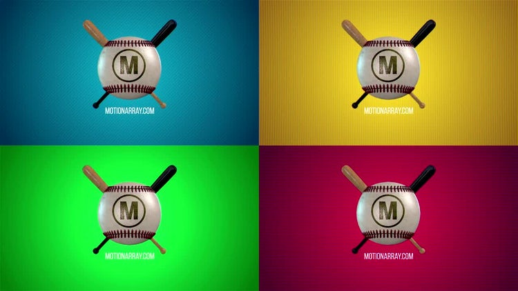 Sport Logo Baseball: After Effects Templates