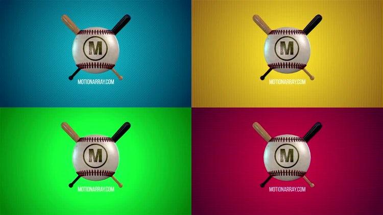 Sport Logo Baseball: After Effects Templates