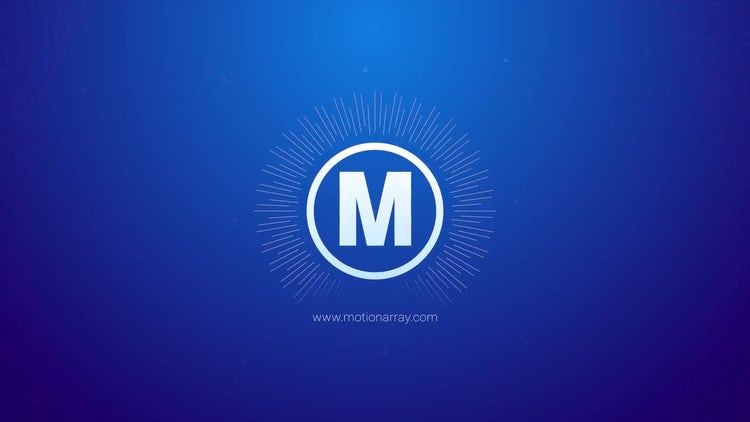 Logo geometry lines: Premiere Pro Templates