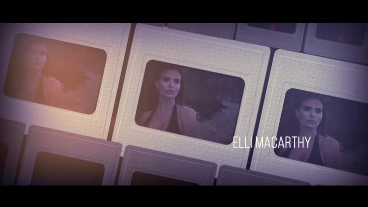 Film Titles Slideshow: After Effects Templates