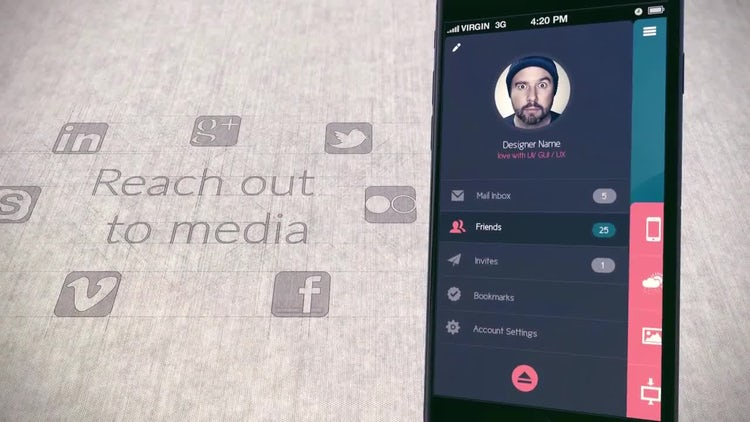 IPhone 6s App Promo: After Effects Templates