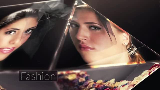 Crystal Modern Slideshow: After Effects Templates