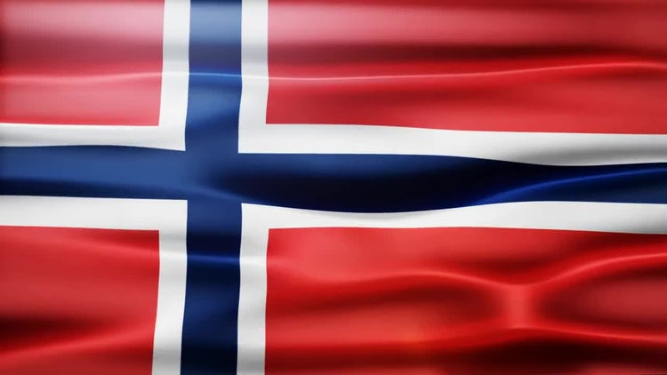 Norway Flag: Motion Graphics