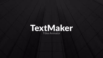 Titles Animator - Digital Block Edition: Premiere Pro Templates