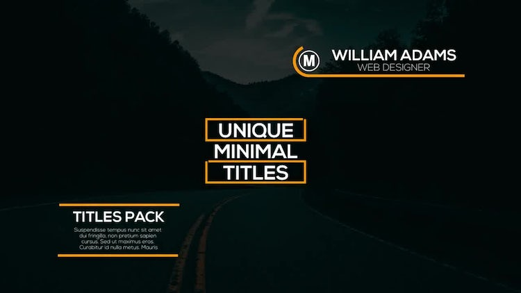 30 Animated Titles: Premiere Pro Templates