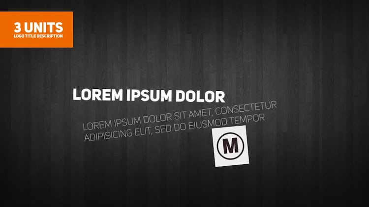Crazy Block Titles: After Effects Templates