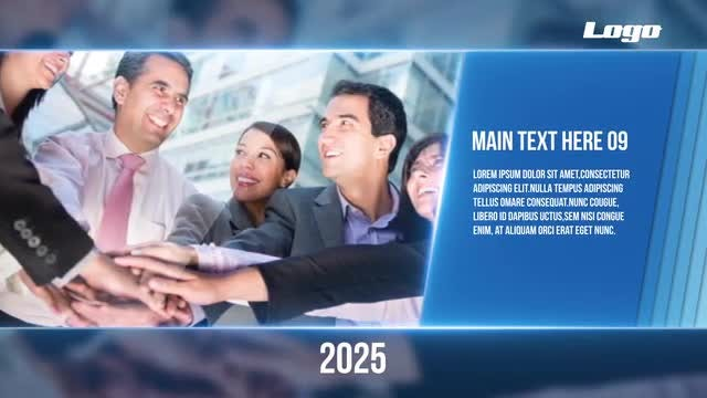 Modern Corporate Timeline After Effects Templates Motion Array