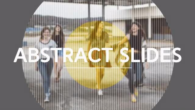 Abstract Slides: After Effects Templates