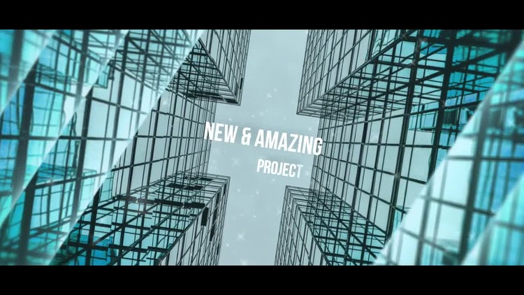 Corporate Parallax Slideshow: After Effects Templates