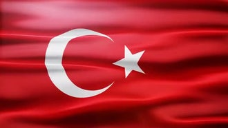 Turkey Flag: Motion Graphics