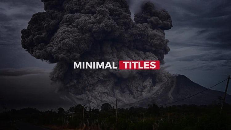 Minimal Shift Titles 2: Premiere Pro Templates