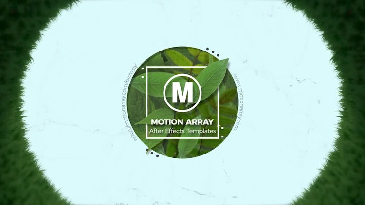 NATURE Logo: After Effects Templates