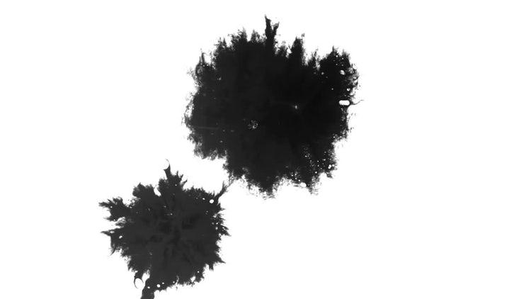Ink Blot 12: Stock Video