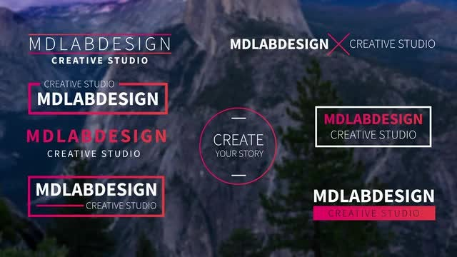 Modern Minimal Titles: After Effects Templates