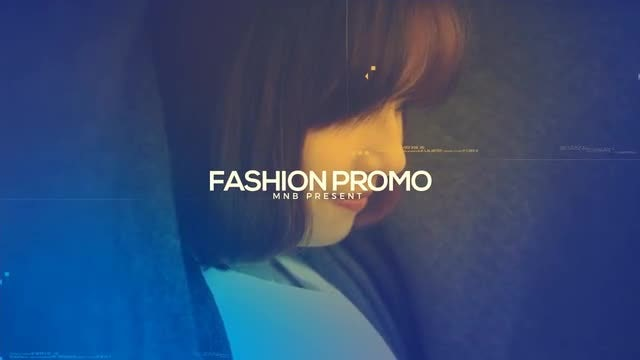 Fashion Promo 4K: After Effects Templates