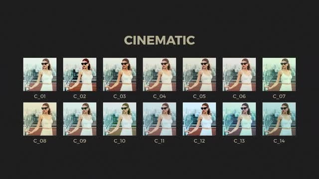 70 Color Grading Presets: After Effects Presets