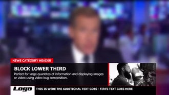 News Graphic package: After Effects Templates