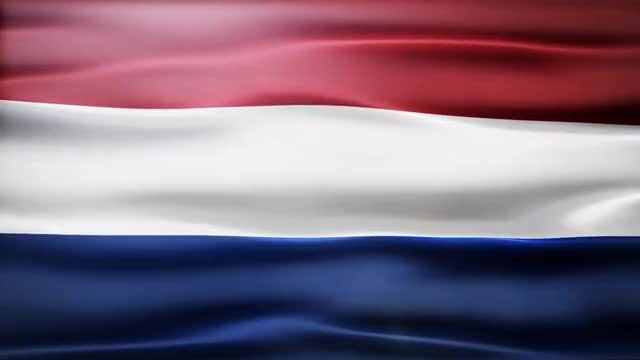 Netherlands Flag: Stock Motion Graphics