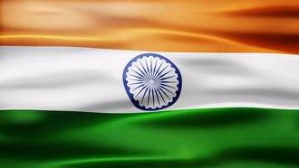 India Flag: Motion Graphics